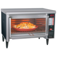 Hatco TFW-461R Thermo-Finisher Black Wide Mouth Food Finisher with Four Top Elements - 208V, 3 Phase