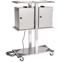 Lakeside 696 Stainless Steel Food Carrier Box Storage Rack - 120V