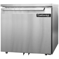 Continental Refrigerator SWF32-U 32 inch Low Profile Undercounter Freezer - 9 Cu. Ft.