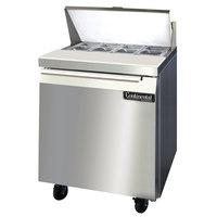 Continental Refrigerator SW27-8 27 1/2 inch Refrigerated Sandwich / Salad Prep Table