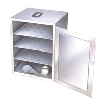 Lakeside 112 Stainless Steel Three Shelf Food Carrier Box - Solid Fuel