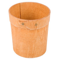 American Metalcraft PWRP4 4 inch Round Poplar Wood Box