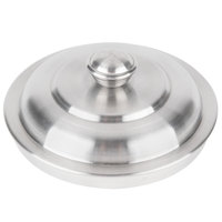 American Metalcraft OLID 3 3/4 inch Mini Stainless Steel Trash Can Lid for OSCAR
