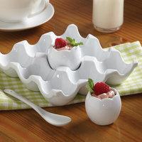 American Metalcraft EC1 1.5 oz. White Porcelain Egg Cup