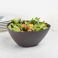American Metalcraft VDBT6 1.6 Qt. Espresso Finish Triangle Bowl