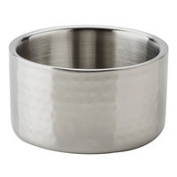 American Metalcraft DWBH4 17 oz. Hammered Double Wall Insulated Stainless Steel Bowl