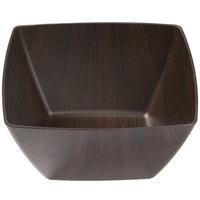 American Metalcraft VDB7 1.6 Qt. Espresso Finish Square Bowl