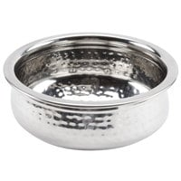 American Metalcraft HB7 1.2 Qt. Stainless Steel Moroccan Hammered Bowl
