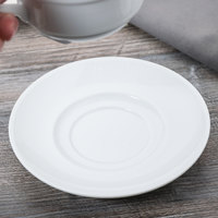 Arcoroc S1533 Rondo 6 3/4 inch Saucer / Bouillon Saucer by Arc Cardinal - 24/Case