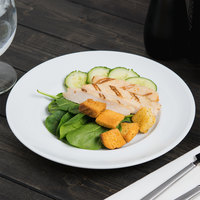 Arcoroc S1504 Rondo 8 5/8 inch Salad / Dessert Plate by Arc Cardinal - 36/Case