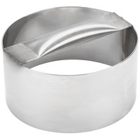 American Metalcraft RDC6 6 inch x 3 inch Stainless Steel Dough Cutting Ring