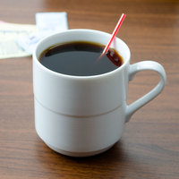 Arcoroc S1535 Rondo 10 oz. Stackable Coffee Mug by Arc Cardinal - 12/Case