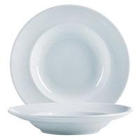 Cardinal Arcoroc S1507 Rondo 8 oz. Rim Soup / Pasta Bowl 24 / Case