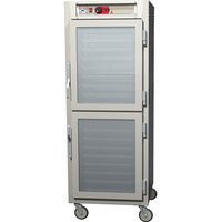 Metro C589-NDC-UPDS C5 8 Series Reach-In Pass-Through Heated Holding Cabinet - Solid Dutch / Clear Dutch Doors