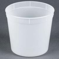 2.7 Qt. Translucent Round Deli Container - 200 / Case