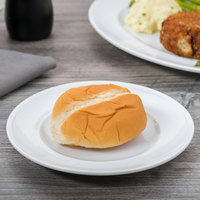Arcoroc S1506 Rondo 6 3/4 inch Bread and Butter / Side Plate by Arc Cardinal - 36/Case