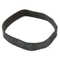 100 Count Box of Black Replacement Flex Bands for 8 1/2 inch Menu Boards