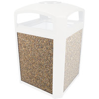 Rubbermaid FG400400ROCK River Rock Aggregate Panel for FG397500 and FG397501 Landmark Series Classic Containers