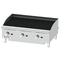 Cecilware Pro CCP36 36 inch Three Burner Gas Charbroiler - 120,000 BTU