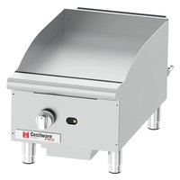Cecilware Pro GCP15 15 inch One Burner Countertop Gas Griddle - 30,000 BTU