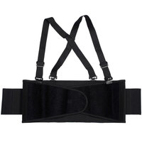 Black Back Support Belt - Large