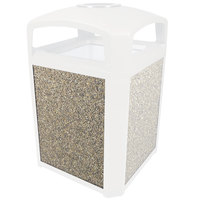 Rubbermaid FG400400CORL Coral Aggregate Panel for FG397500 and FG397501 Landmark Series Classic Containers