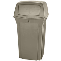 Rubbermaid FG843088BEIG Ranger Beige Container With 2 Doors 35 Gallon