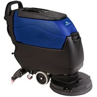 Pacific 855413 S-20 20 inch Walk Behind Auto Floor Scrubber with Pad Assist Drive - Charger, No Batteries