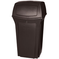 Rubbermaid FG843088BRN Ranger Brown Container With 2 Doors 35 Gallon