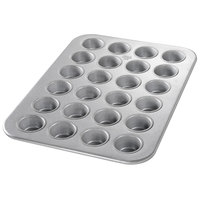 Chicago Metallic 45245 24 Cup 2.1 oz. Glazed Mini Muffin Pan
