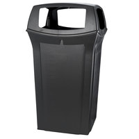 Rubbermaid FG917600 Ranger Black Container with 4 Openings 65 Gallon (FG917600BLA)