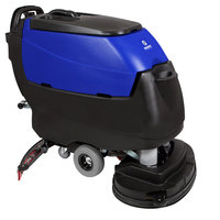 Pacific 875418 S-32 32 inch Walk Behind Auto Floor Scrubber with Transaxle Drive - 250AH Maintenance Free AGM Batteries with Charger