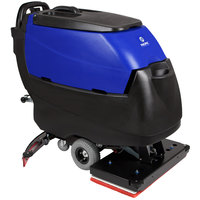 Pacific 875427 S-28 28 inch Walk Behind Orbital Auto Floor Scrubber with Transaxle Drive - Charger, No Batteries