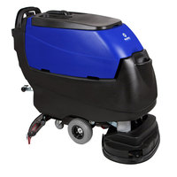 Pacific 875409 S-28 28 inch Walk Behind Auto Floor Scrubber with Transaxle Drive - 260AH Batteries with Charger