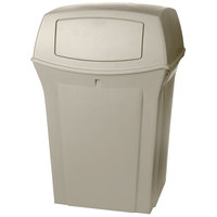 Rubbermaid FG917188BEIG Ranger Beige Container with 2 Doors 45 Gallon