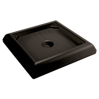 Rubbermaid FG917700BLA Ranger Black Weighted Base Accessory for FG917188, FG917388, FG917500, FG917600 Containers