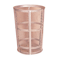 Rubbermaid FGSBR52 Red Round Steel Street Basket 45 Gallon (FGSBR52RD)