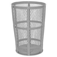 Rubbermaid FGSBR52 Round Galvanized Steel Street Basket 45 Gallon