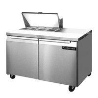 Continental Refrigerator SW48-8 48 inch 2 Door Refrigerated Sandwich Prep Table