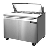 Continental Refrigerator SW36-10 36 inch 2 Door Refrigerated Sandwich Prep Table