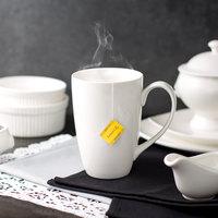10 Strawberry Street WTR-BARRELMUG Whittier 16 oz. White Porcelain Barrel Mug - 24/Case