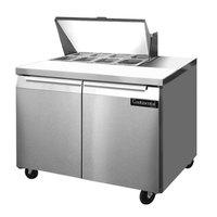 Continental Refrigerator SW36-8 36 inch 2 Door Refrigerated Sandwich Prep Table