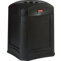 Rubbermaid FG9W0000 Landmark Series Gas Station / Store Front Black Standard Funnel Top Container 35 Gallon (FG9W0000BLA)