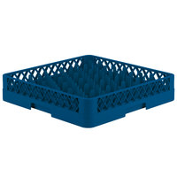 Vollrath TR12 Traex® Rack Max Full-Size Royal Blue 30-Compartment 3 1/4 inch Glass Rack
