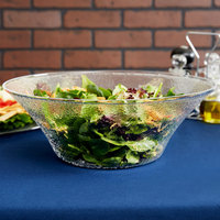 Carlisle SB9407 6 Qt. Pebbled Serving/Salad Bowl
