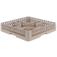Vollrath TR13H Traex Rack Max Full-Size Beige 30-Compartment 2 1/16 inch Glass Rack