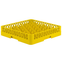Vollrath TR12 Traex® Rack Max Full-Size Yellow 30-Compartment 3 1/4 inch Glass Rack