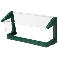 Cambro FSG480519 4' Green Free-Standing Sneeze Guard