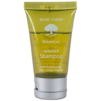 Basic Earth Botanicals Nourishing Shampoo with Flip-Top Cap 1 oz. - 300/Case