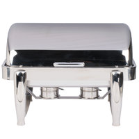 Vollrath T3600 D-Lux 8.5 Qt. Stainless Steel Dripless Roll Top Chafer
